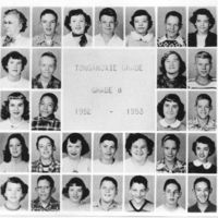 Tonganoxie Grade School Grade 8 1952-53