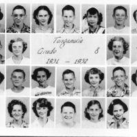 Tonganoxie Grade School  Grade 8  1951-'52