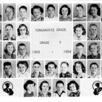 Tonganoxie Grade School - Grade 7   1953 - '54