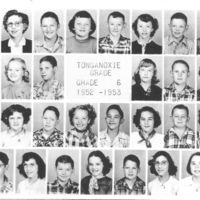 Tonganoxie Grade School  Grade 6 1952-'53