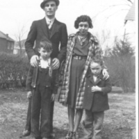 Rollie and Alice McCaffery with McEnulty Children