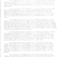 Olive Branch Cemetery history, Rossville, Kansas