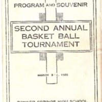 Program and Souvenir&lt;br /&gt;<br />