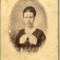 Portrait of woman, W.M. Oaks, Holton, Kansas&lt;br /&gt;<br />